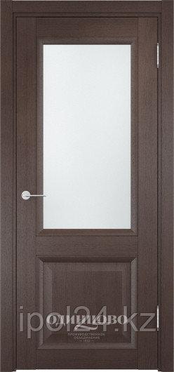Межкомнатная дверь  Casaporte Милан 07 ДО остекление матированное Белое