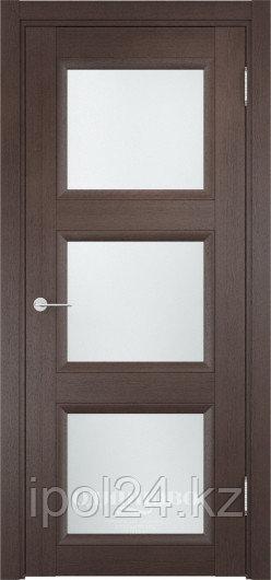 Межкомнатная дверь  Casaporte Милан 10 ДО остекление матированное Белое