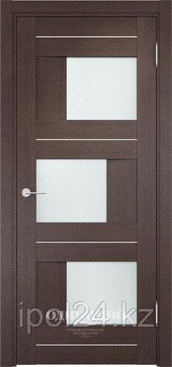 Межкомнатная дверь  Casaporte Сицилия 14 ДО остекление матированное Белое