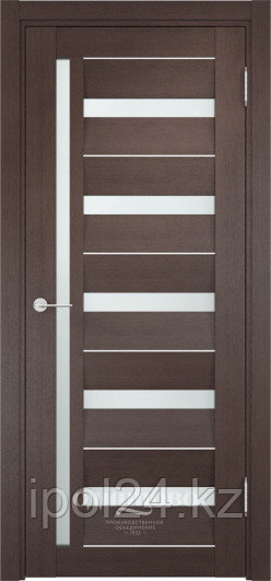 Межкомнатная дверь  Casaporte Сицилия 18 ДО остекление матированное Белое