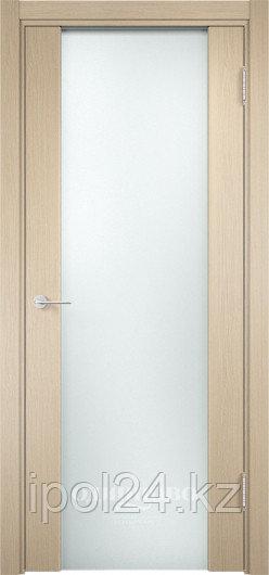 Межкомнатная дверь  Casaporte Сан-Ремо 01 ДО остекление триплекс Чёрный