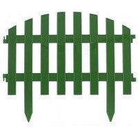 "Забор декоративный серия ""Винтаж"", 28 х 300 см, цвет зеленый, PALISAD, 65012, фото 1"