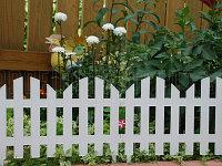 """Забор декоративный серия """"Ренессанс"""", 28 х 300 см, цвет белый, PALISAD, 65020"""