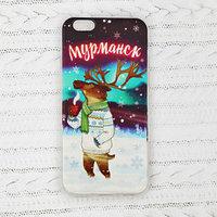 Чехол для телефона iPhone 6 'Мурманск. Олень'