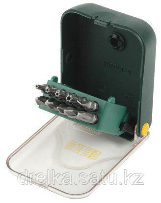 Набор бит для шуруповерта KRAFTOOL 26137-H11, биты двухсторонние в мобильном бит-боксе с клипсой, Cr-V, фото 2