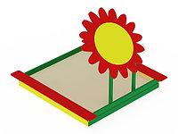 Песочница с навесом Забава-цветок ИО 508