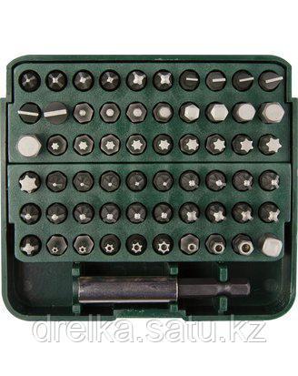 Набор бит для шуруповерта KRAFTOOL 26140-H61, биты с адаптером в пластиковом боксе, Cr-V, 61 предмет , фото 2