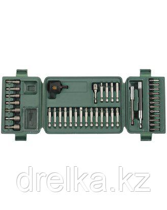 Набор бит для шуруповерта KRAFTOOL 26154-H42, хвостовик E 1/4 в пластиковом боксе, 42 предмета