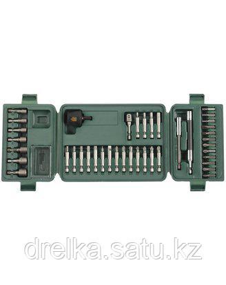 Набор бит для шуруповерта KRAFTOOL 26154-H42, хвостовик E 1/4 в пластиковом боксе, 42 предмета , фото 2