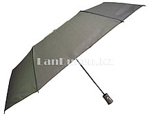 Женский зонт полуавтомат складной в чехле Lantana с системой антиветер серый