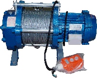 Лебедка электрическая 500 кг 70 м (220В)