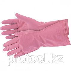 Перчатки хозяйственные латексные, XL Elfe