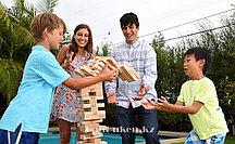 """Настольная игра """"Дженга Giant family edition""""  54 деревянные детали"""