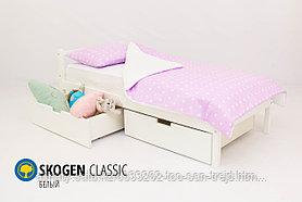 Детская кровать Бельмарко «Skogen classic белый»