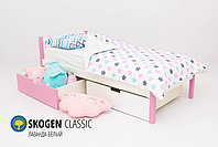 Детская кровать Бельмарко «Skogen classic лаванда-белый», фото 2