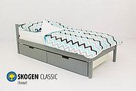 Детская кровать Бельмарко «Skogen classic графит», фото 2