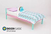 Детская кровать Бельмарко «Skogen classic Мятный-Лаванда», фото 2