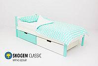 Детская кровать Бельмарко «Skogen classic Мятно-Белый», фото 2