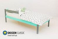 Детская кровать Бельмарко «Skogen classic Графит-Мятный», фото 2