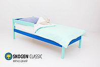 Детская кровать Бельмарко «Skogen classic Мятно-Синий», фото 2