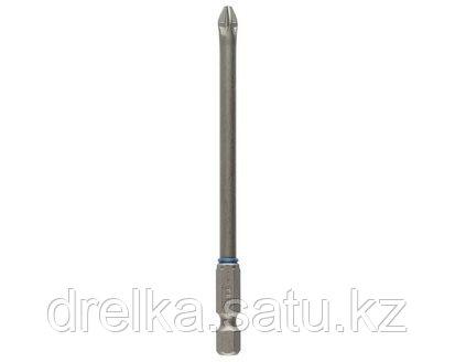 Бита для шуруповерта ЗУБР 26013-2-100-1, торсионная кованая, обточенная, хромомолибденовая сталь, фото 2
