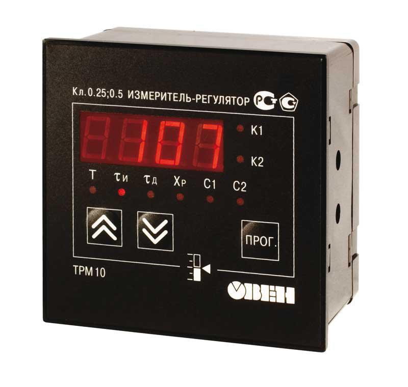 ТРМ10 - Измеритель ПИД-Регулятор одноканальный (Р, К, С, Т, И, У, СЗ)