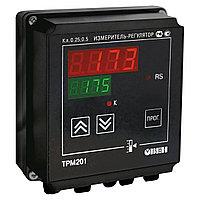 ТРМ201 - Измеритель-регулятор одноканальный с интерфейсом RS485 (К, С, СЗ, И, У, Т)