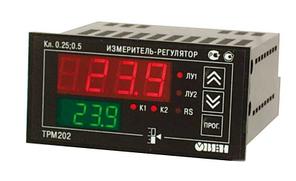 ТРМ202 - Измеритель-регулятор двухканальный с интерфейсом RS485 (Р)