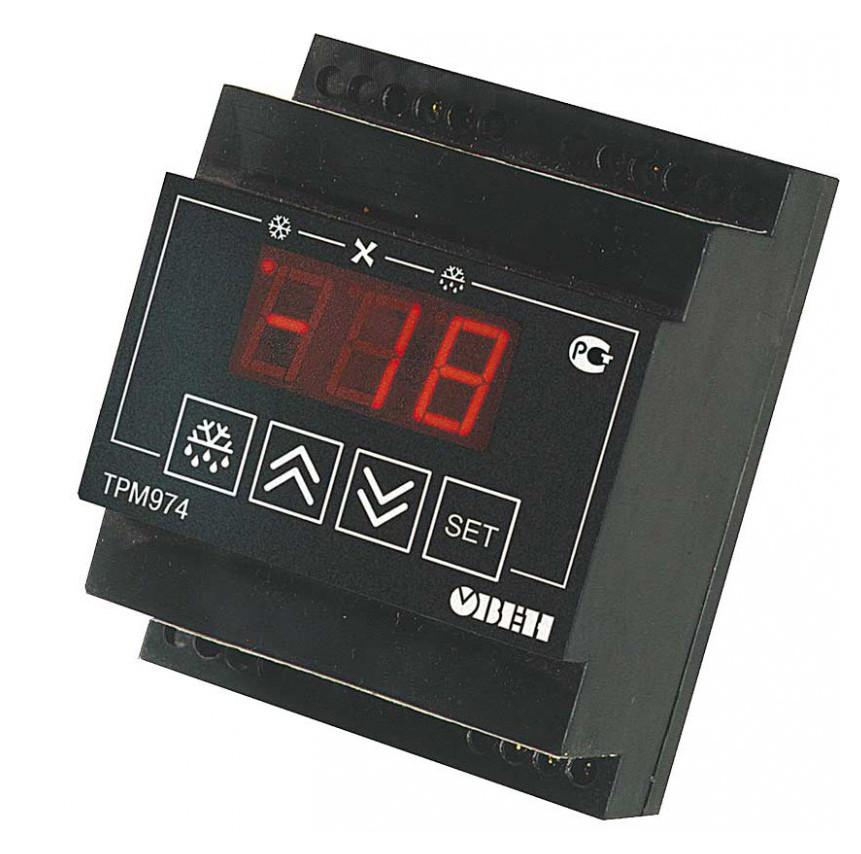 ТРМ974 - Блок управления средне и низкотемпературными холодильными машинами
