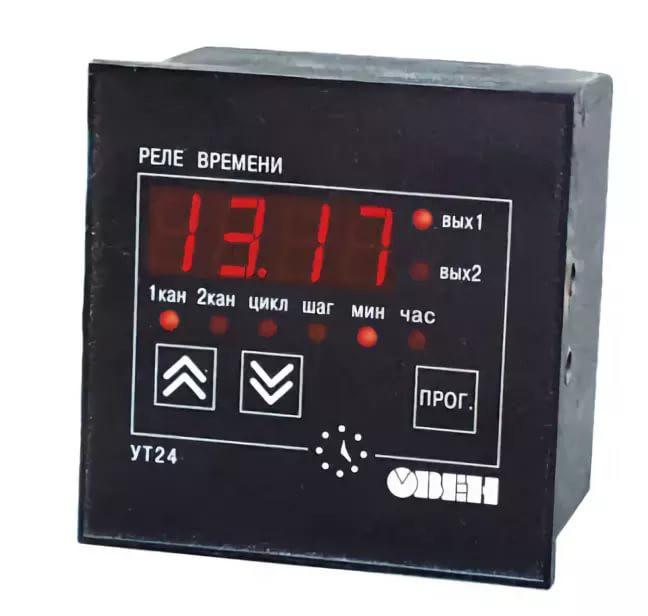 УТ24 - Микропроцессорное реле времени двухканальное