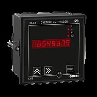 СИ8 - Счетчик импульсов; Тип корпуса Щ1, Щ2, Н; Выходы – Р (два э/м реле); интерфейс RS-485.