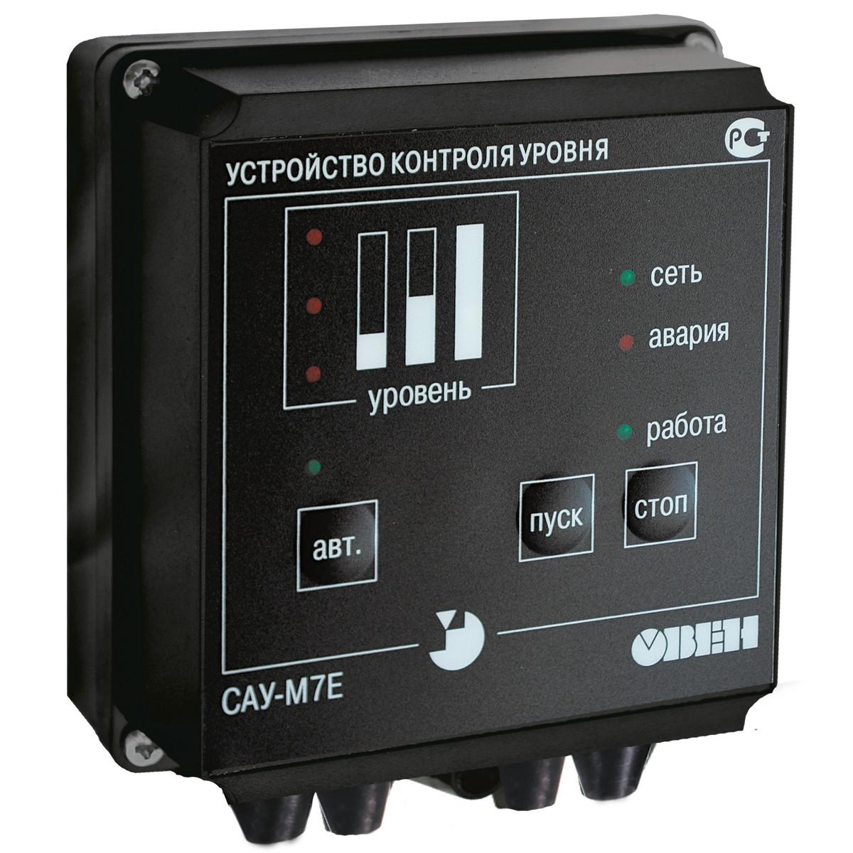 САУ-М7.Е - Сигнализатор уровня жидких и сыпучих сред с дистанционным управлением; Тип - корпуса Щ1, Н.