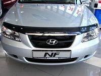 Мухобойка (дефлектор капота) на Hyundai NF 2006-
