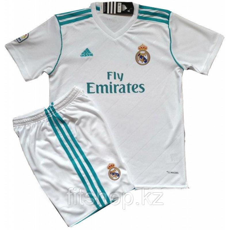 Детская  Футбольная форма Adidas FC REAL MADRID 2017 домашняя
