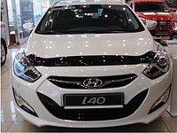 Мухобойка (дефлектор капота) на Hyundai i40/Хендай i40 2012-