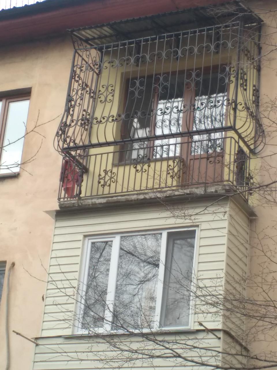 Кованные решетки на балкон
