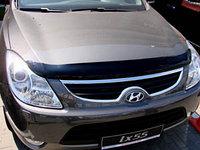 Мухобойка (дефлектор капота) на Hyundai ix55,Veracruz/Хюндай Веракруз 2008-, фото 1