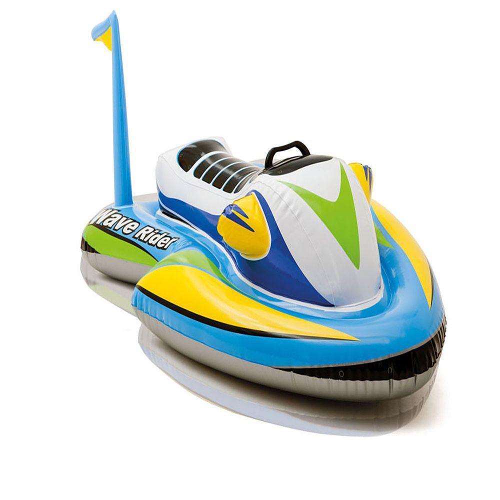 """Игрушка надувная для плавания """"Скутер"""" с ручками, 117х77 см, от 3 лет 57520NP INTEX"""