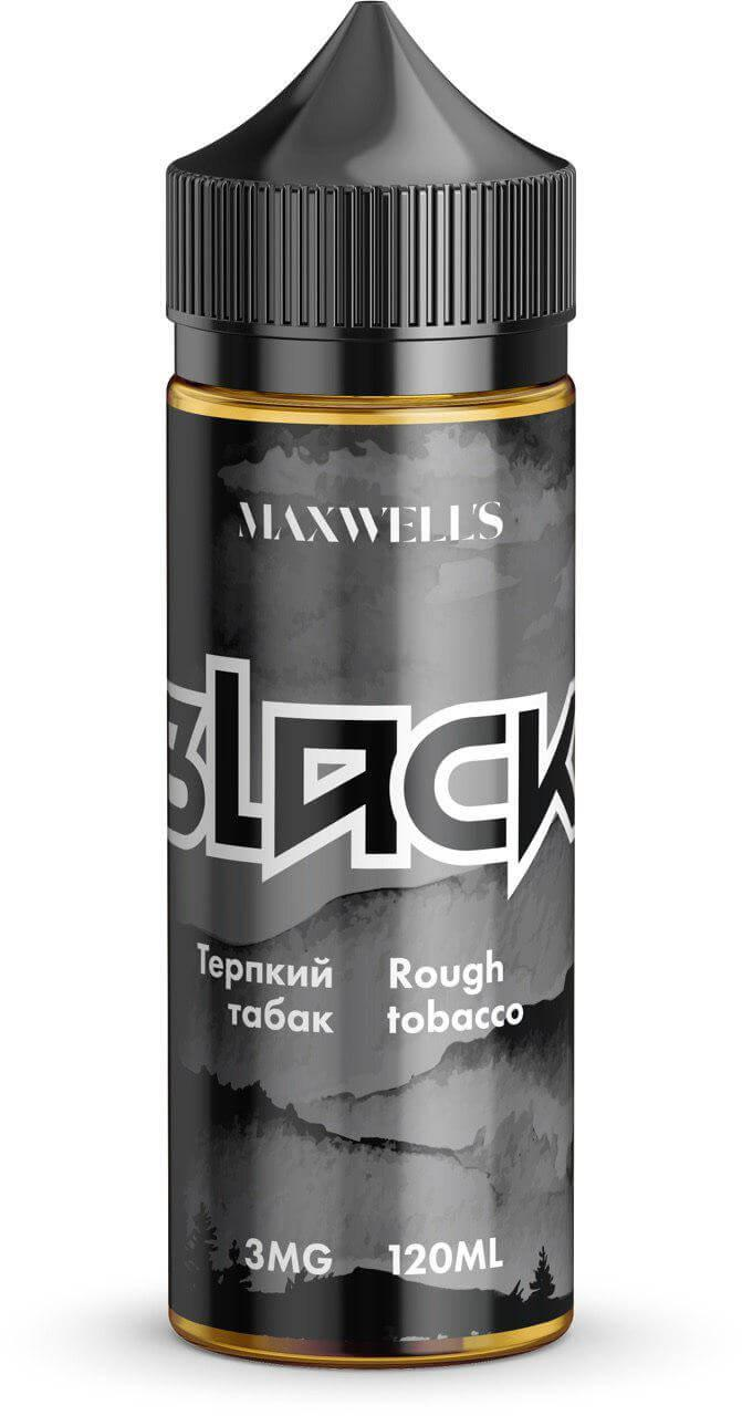 Жидкость для электронных сигарет Maxwell's - Black (120мл) Терпкий табак 3, 6 мг