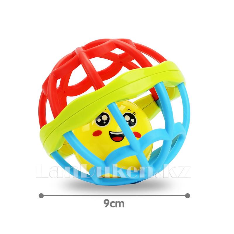 Погремушка для детей (прорезыватель) в виде шара - фото 5