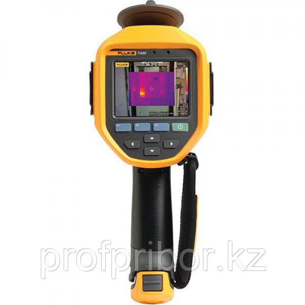Fluke Ti400 тепловизоры c системой автофокусировки LaserSharp™ и беспроводным подключением