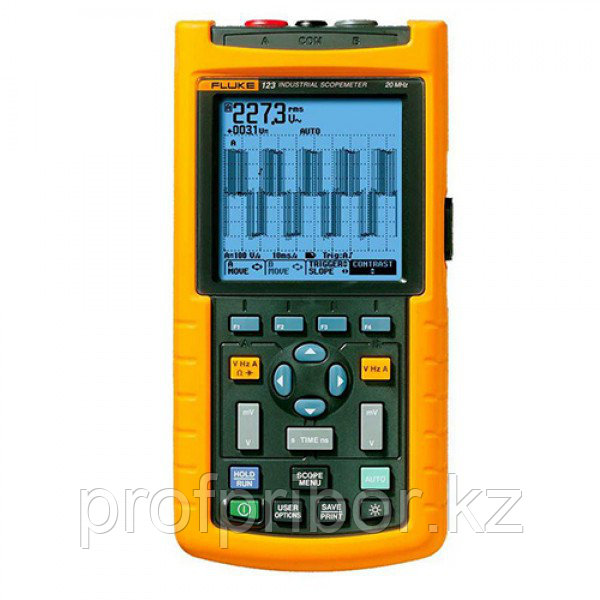 Fluke 123 осциллограф-мультиметр ScopeMeter®