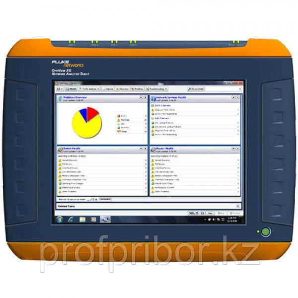 Fluke OptiView XG планшет для сетевого анализа