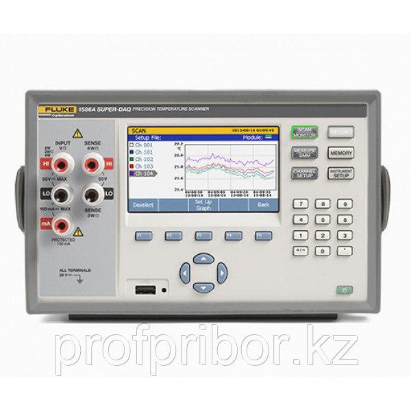 Fluke 1586A Super-DAQ прецизионный температурный сканер