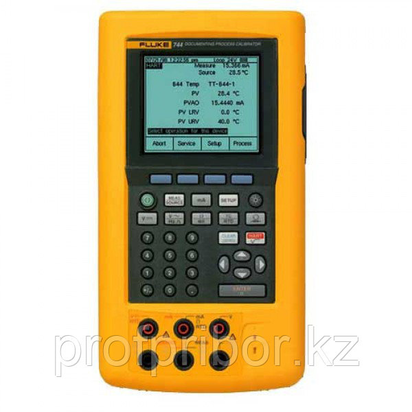 Fluke 741B регистрирующий калибратор технологического оборудования