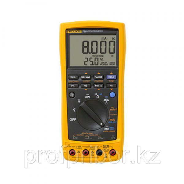 Fluke 789 цифровые мультиметры-калибраторы процессов