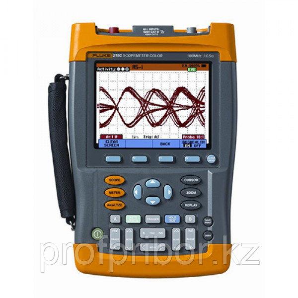 Fluke 225C и 215C   осциллографы-мультиметры ScopeMeter®