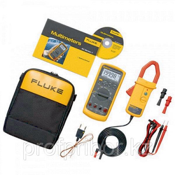 Fluke 87V/i410 мультиметр цифровой, комплект промышленный комбинированный