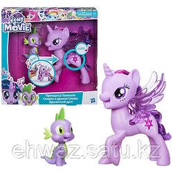 Набор My Little Pony Поющая Твайлайт Спаркл и Спайк Сияние