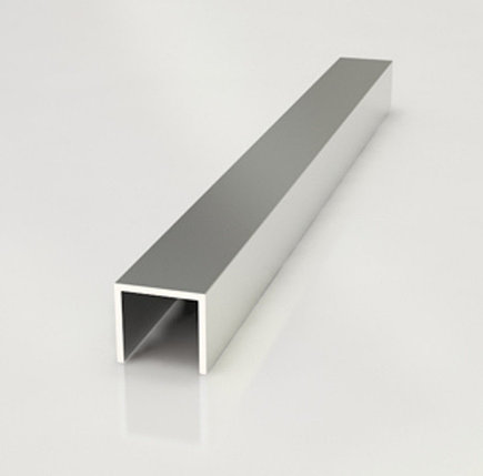 Планка торцевая для фартука (П-образный) 6мм  3м, фото 2